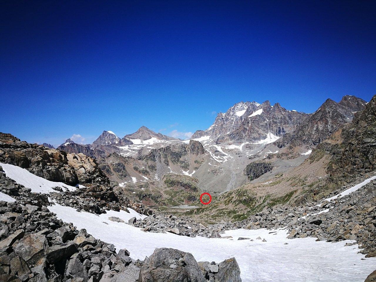 05 - dal Colle dei Becchi al Bivacco Ivrea il percorso è più lungo di quello che sembra