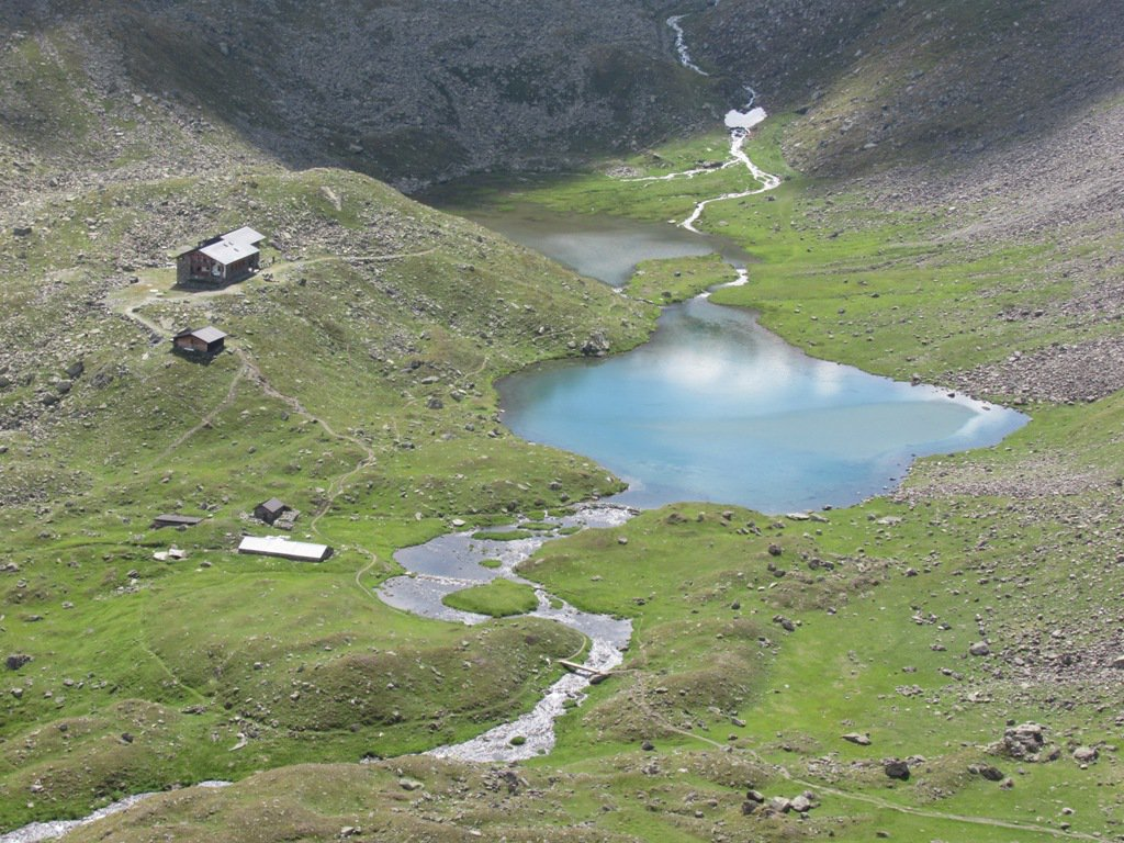 Rifugio e Lago Arbole
