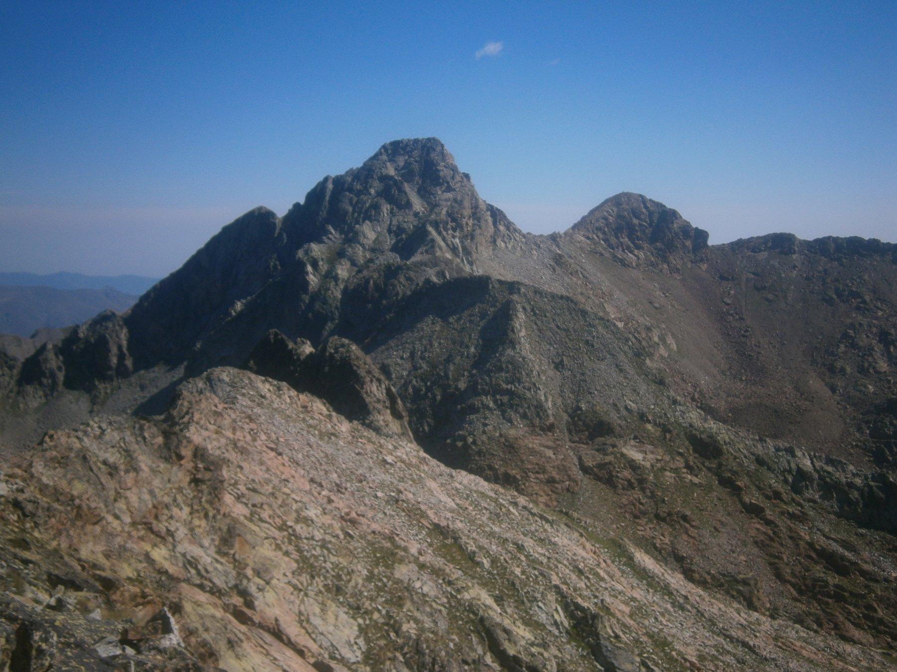 Valrossa (Cima Nord di) da Terme di Valdieri per la Val Rossa 2017-07-23