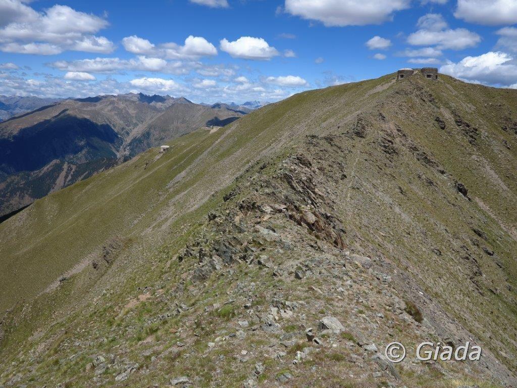 Saint Sauveur (Mont) da Isola 2000, anello per la Cime de Sistron 2017-07-25