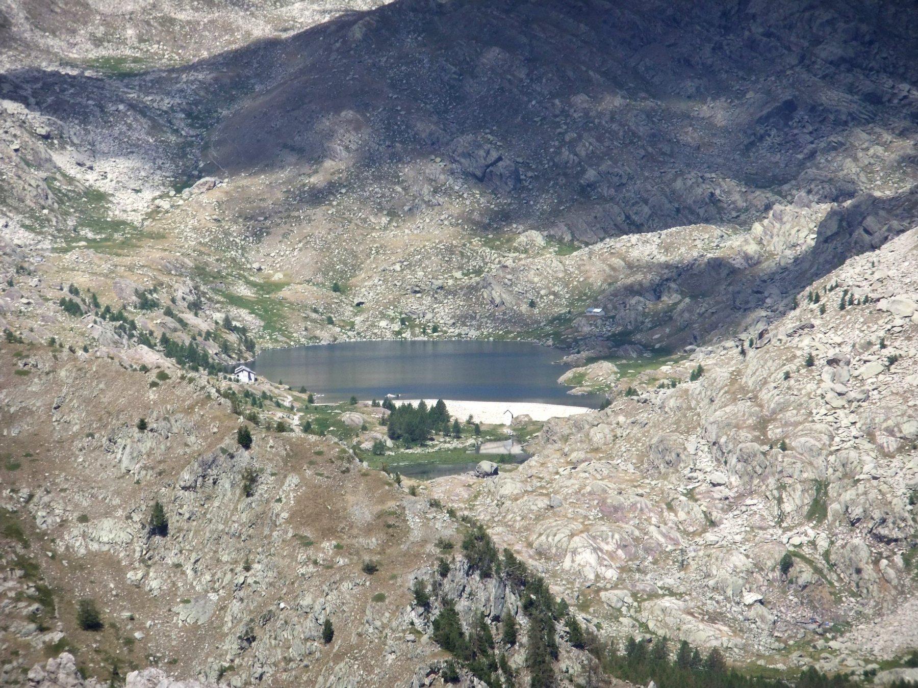 Nauque (Cima de la) da les Mesches, anello di cresta per il Pas de Colle Rousse 2017-07-26