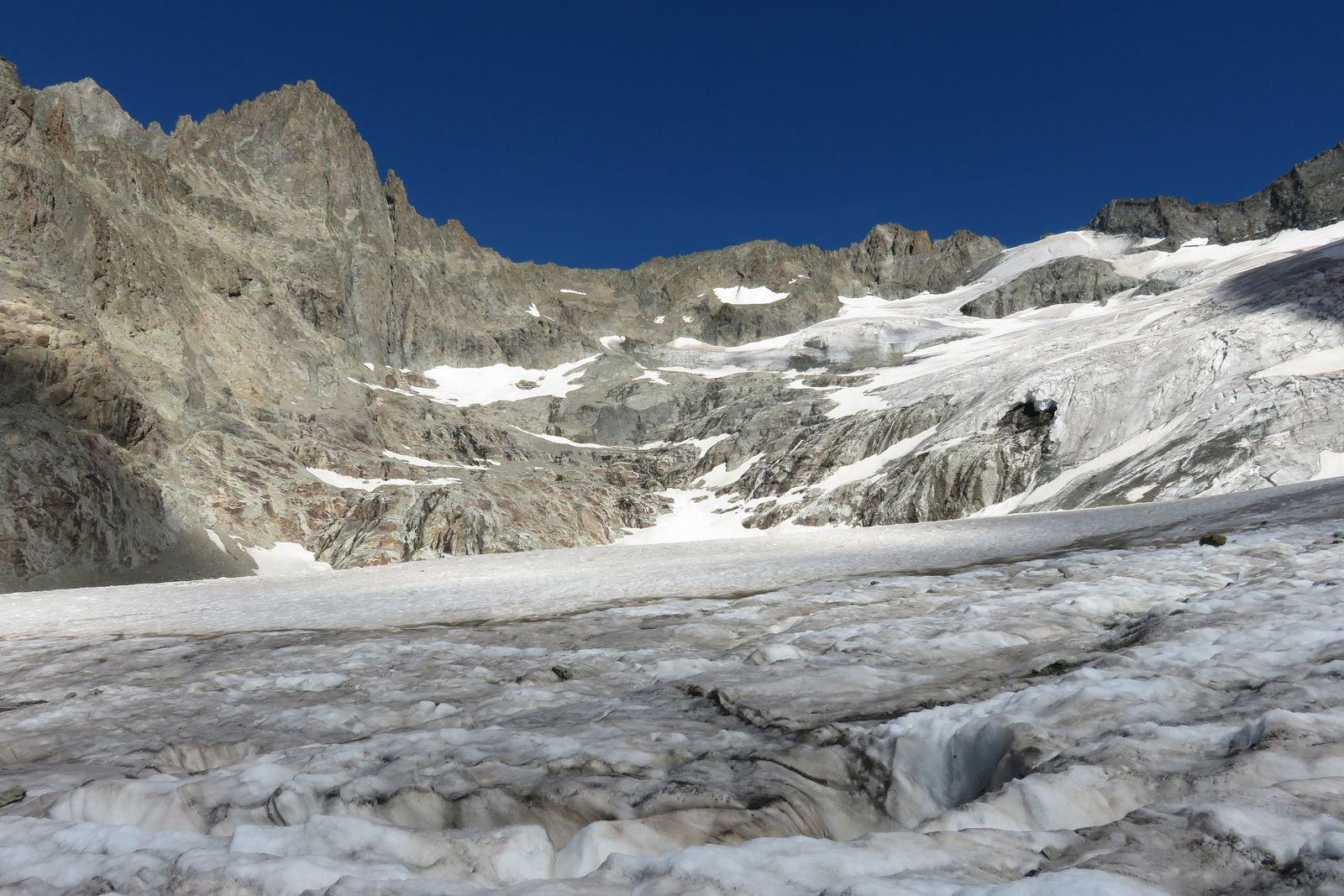 Boeufs Rouges (Pointe des) dal Refuge de la Pilatte per il Col du Selè e la cresta NNO 2017-07-27
