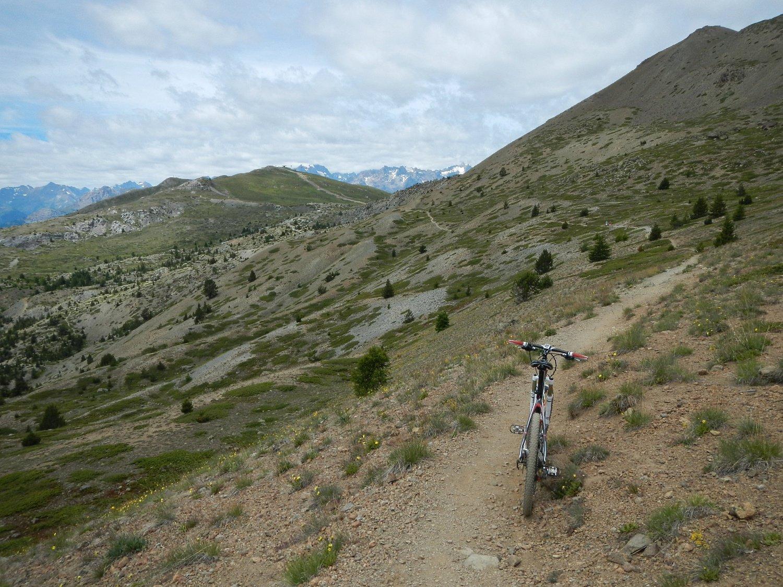 il tratto verso Col du Gondran