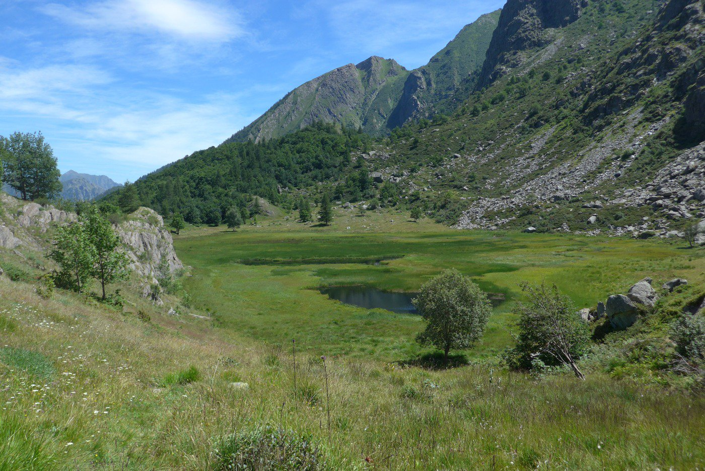 Il lago Falin