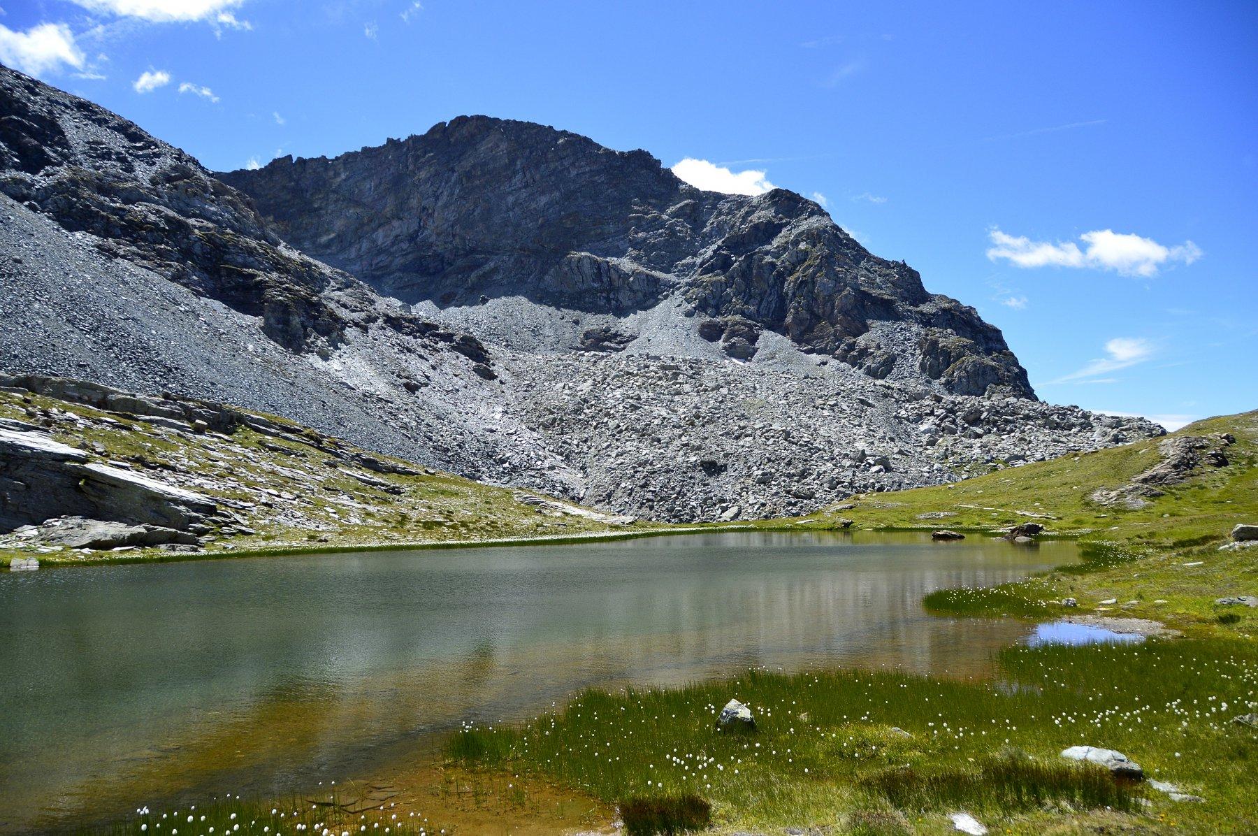 Primo lago Pinter e Gran Cima
