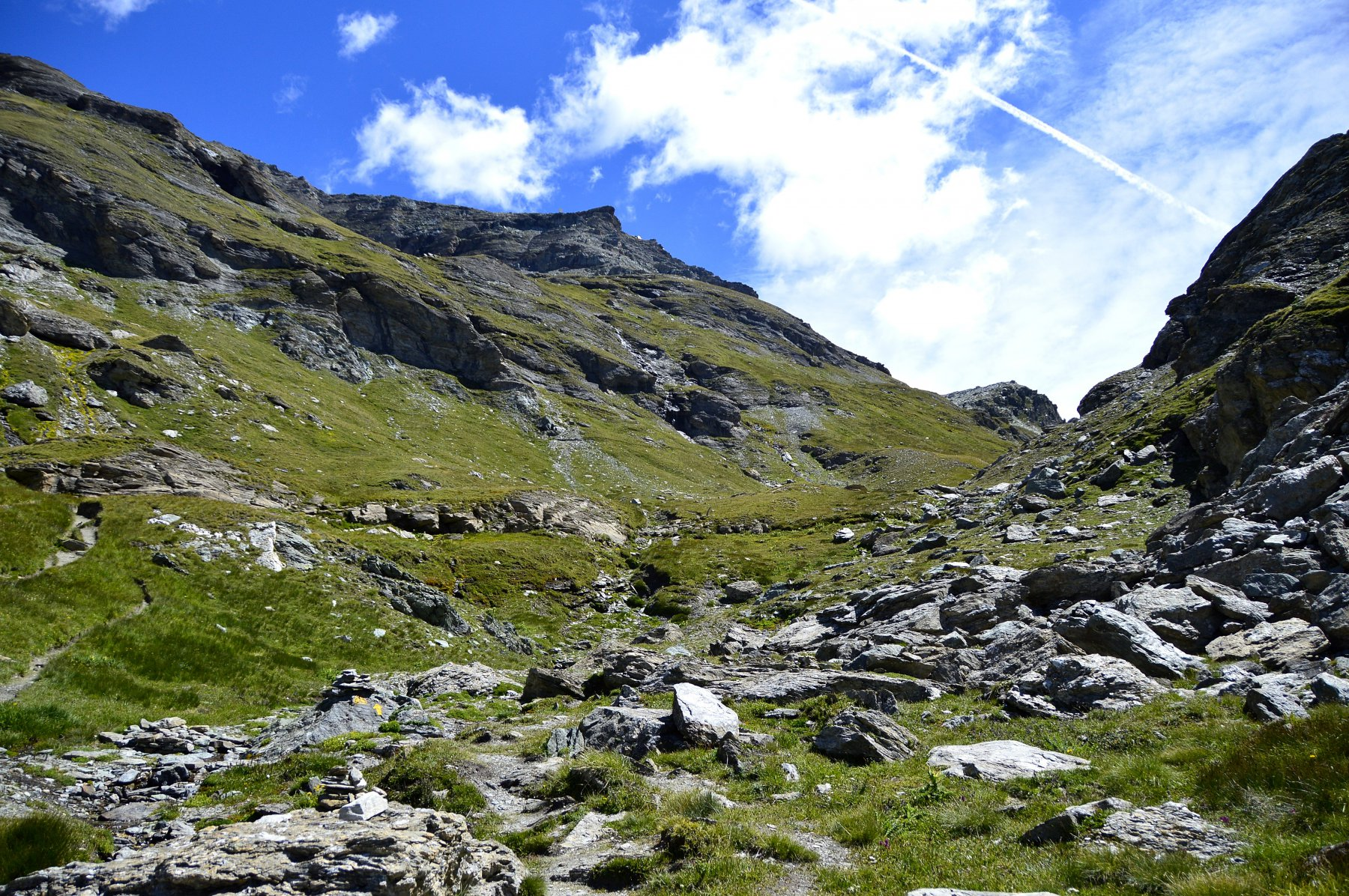 Ai piedi del monte Pinter