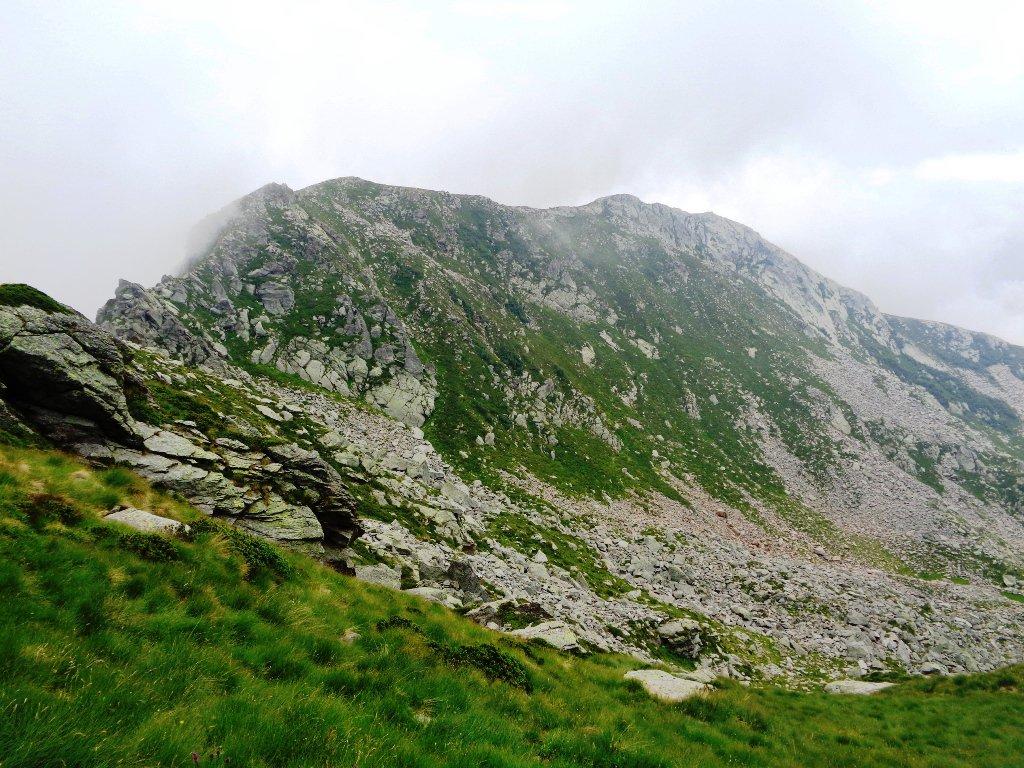 parte della cresta percorsa lo scorso ottobre