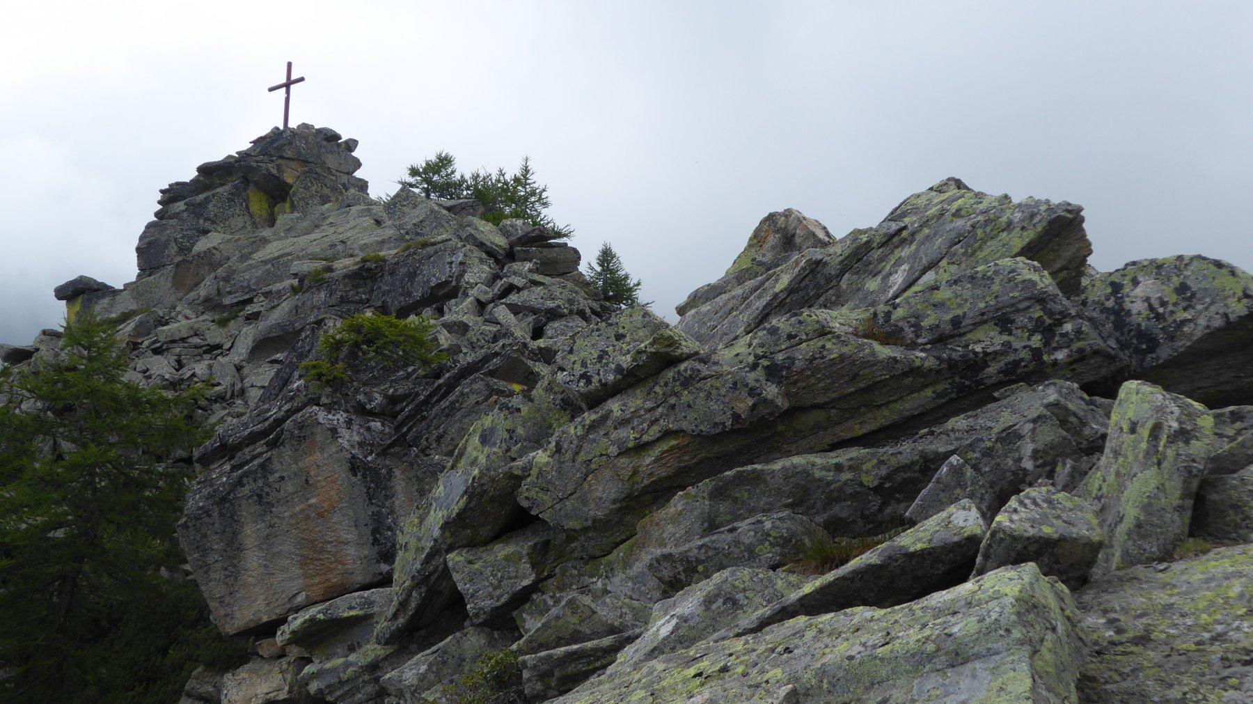 Vista dalla cresta N-O
