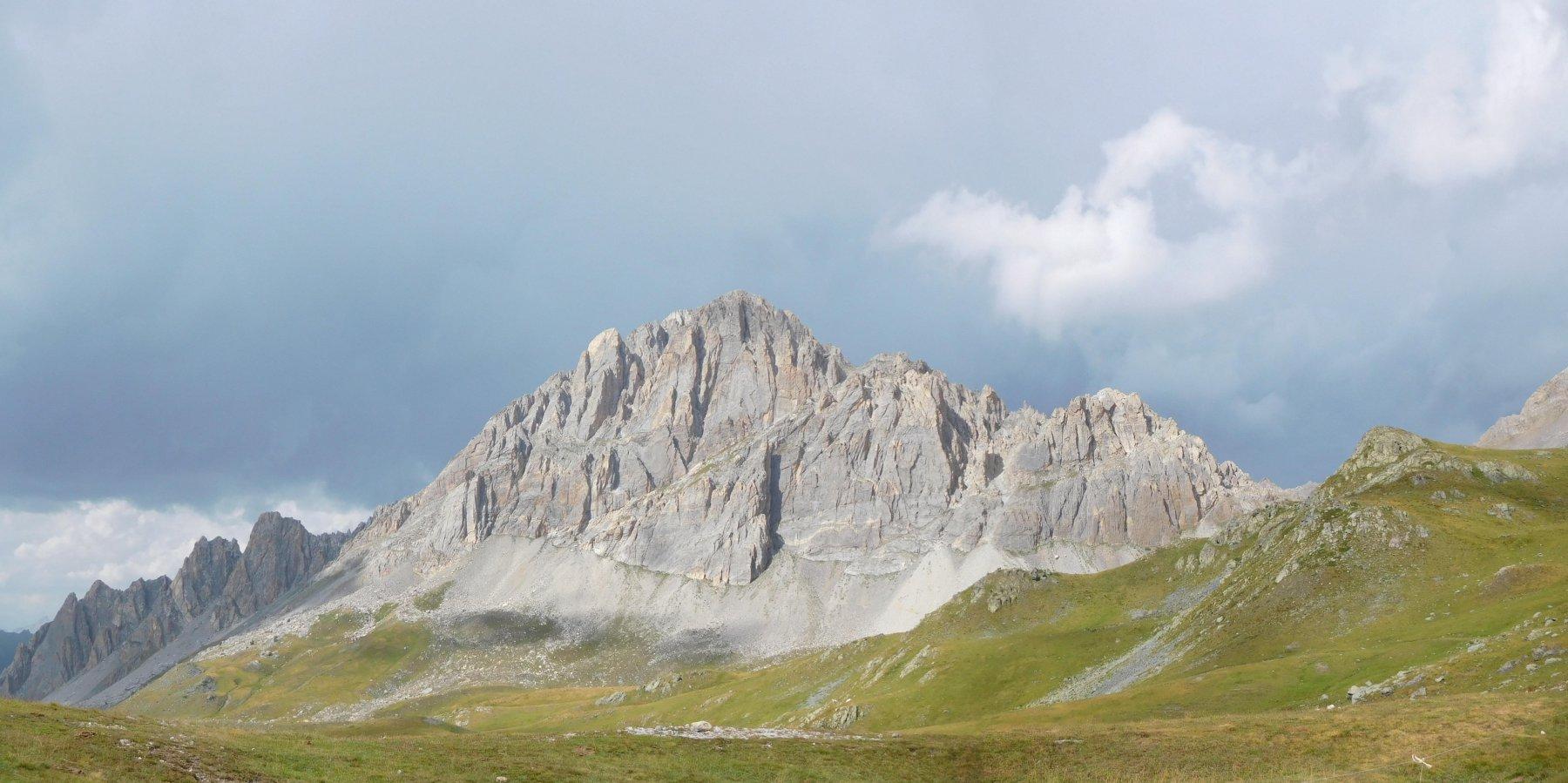 Rocca La Meja - Ecco il meraviglioso ambiente in cui si svolge l'arrampicata