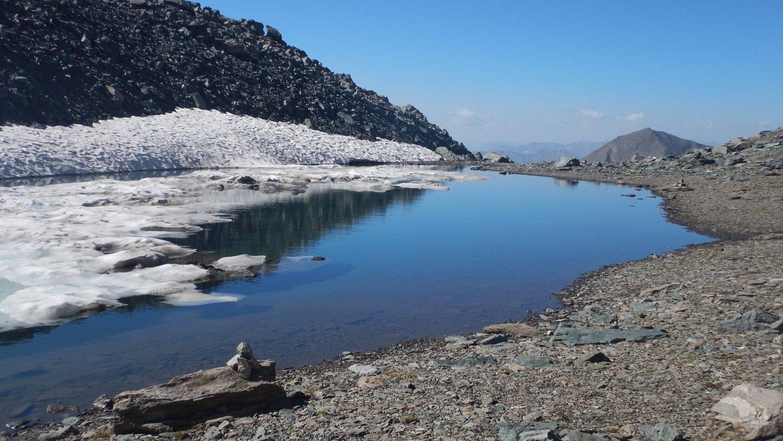 Secondo laghetto glaciale