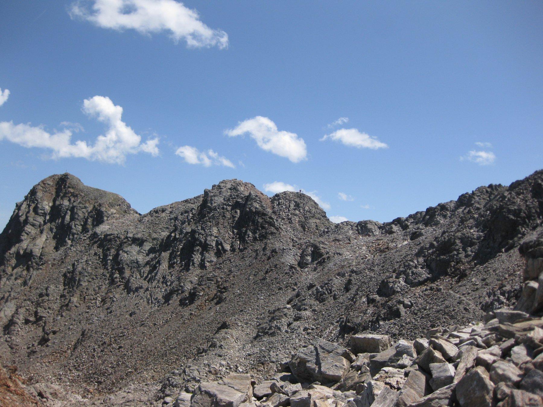 la cresta vista dal laghetto