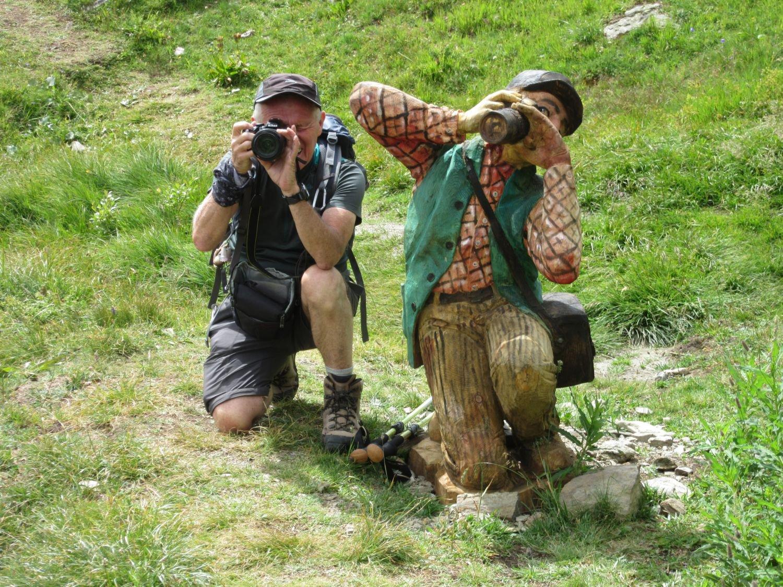 Un fotografo particolare