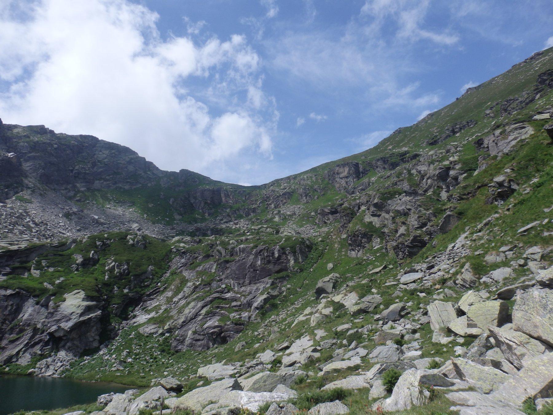 lago Bojret e colle della Forca