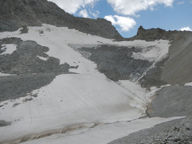 ghiacciaio in estinzione