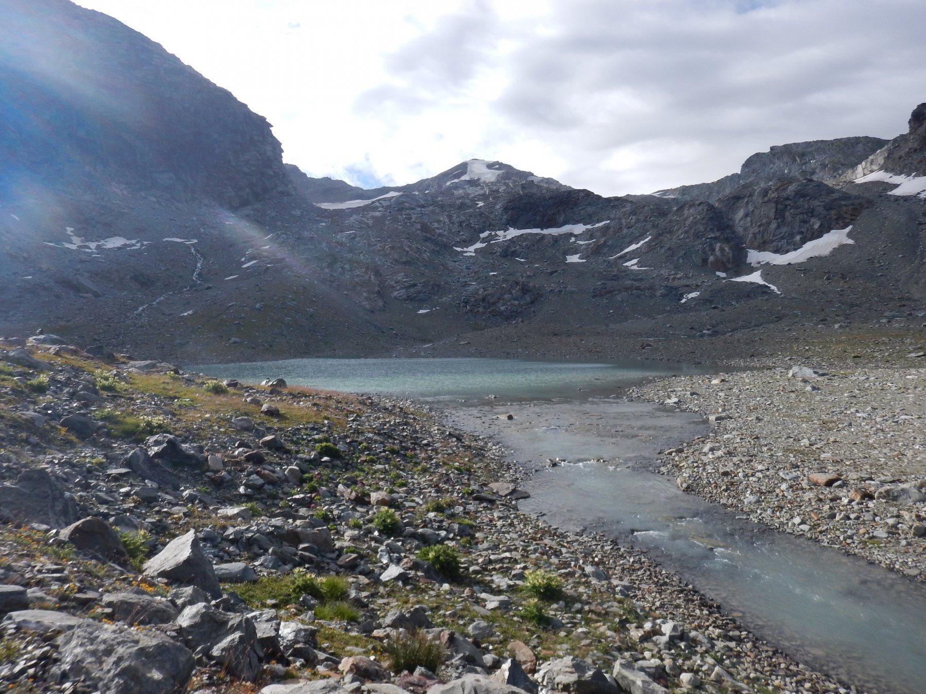 la cima vista dai laghi