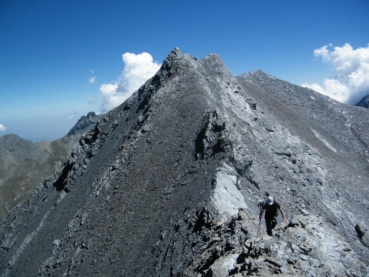 Aiguillette (Monte) per la Cresta Ovest 2017-08-05