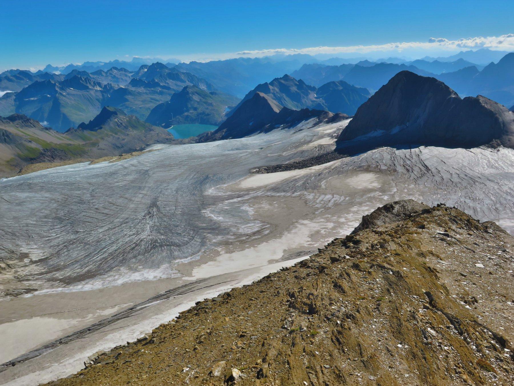 ghiacciaio e lago Griessee