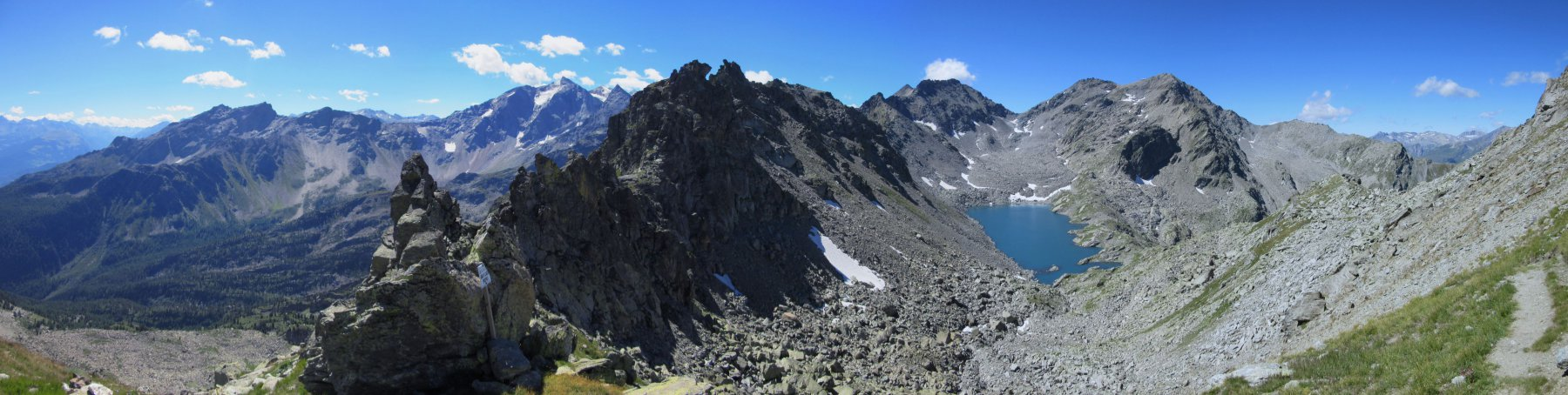 Panorama dal Passo di Ameran