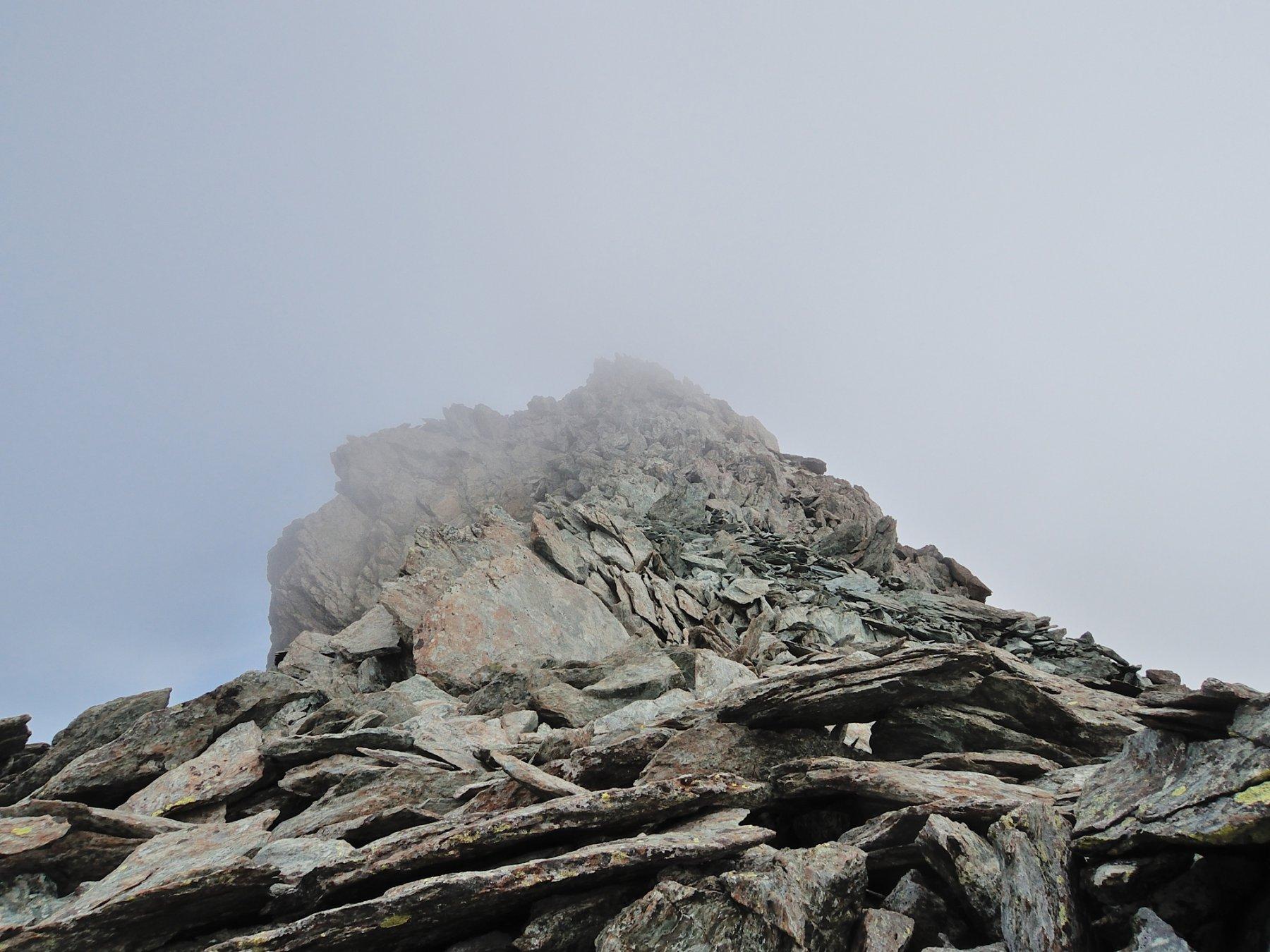Quasi in cima alla Punta Marani