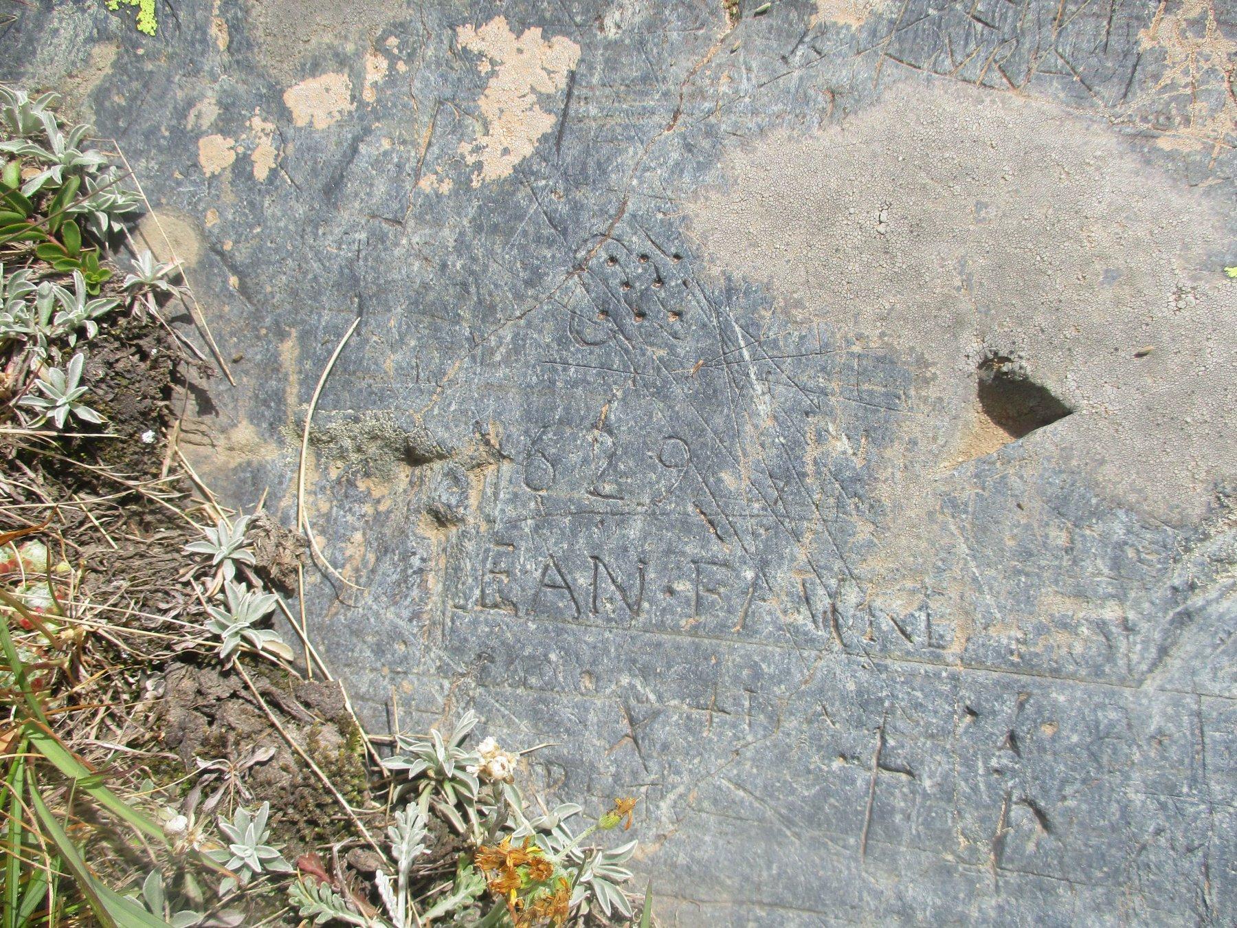 Iscrizione del 1629