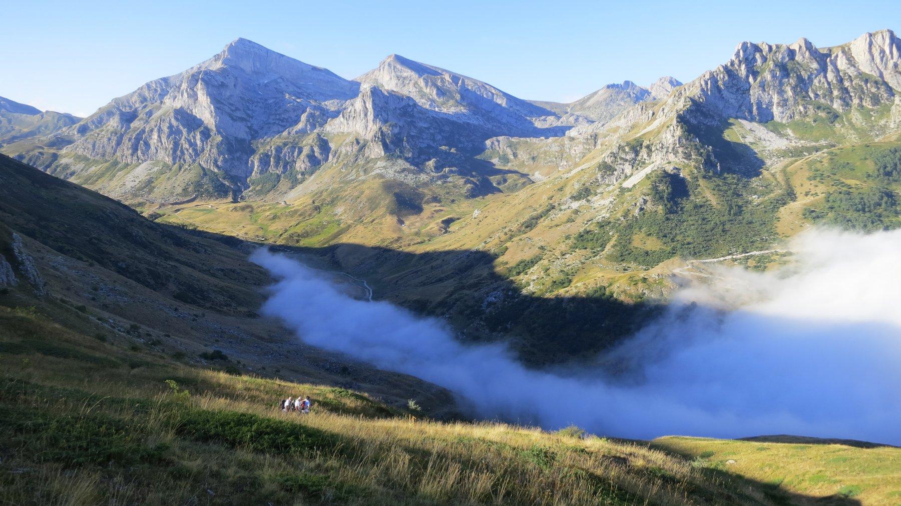 Alle 8 le nebbie ristagnano fino ai 1600 metri