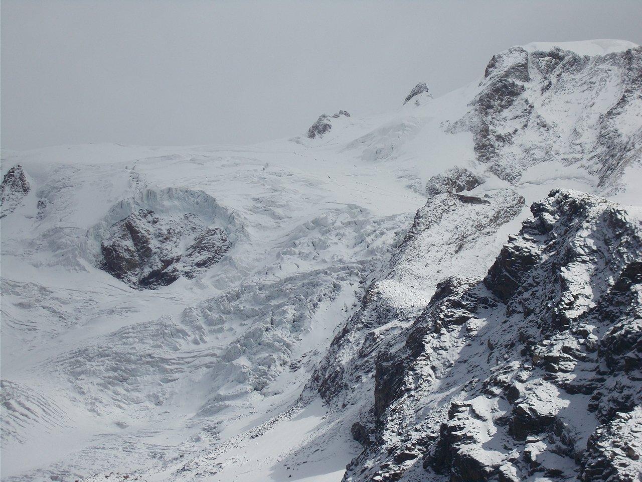 ghiacciaio del Lys