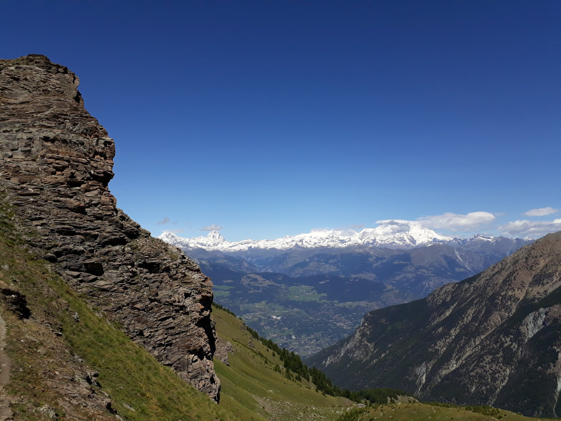 Panorama dal Col Cratey