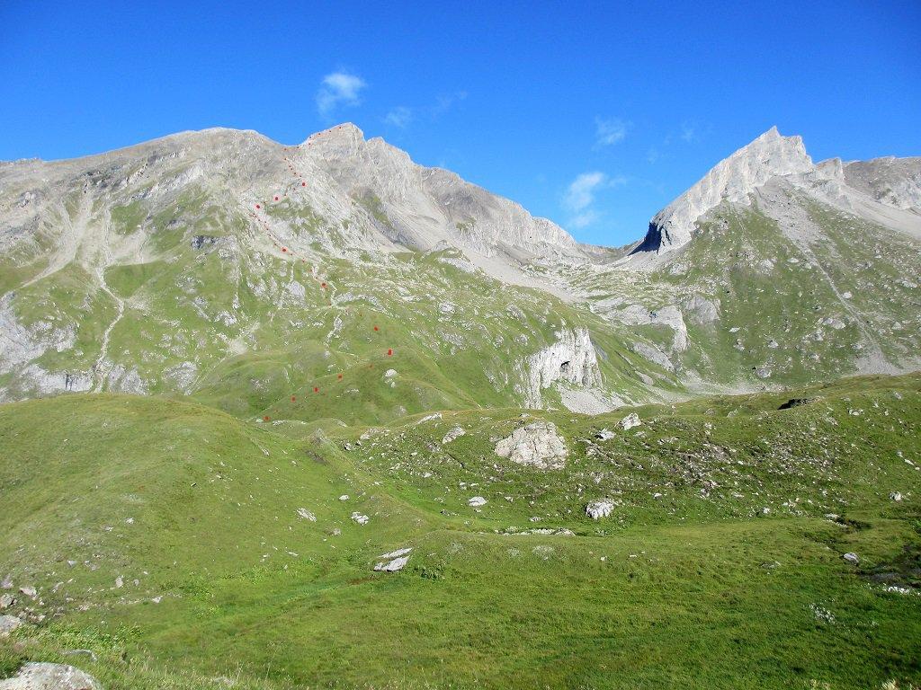 Grande Rochère e Bonalè con via salita