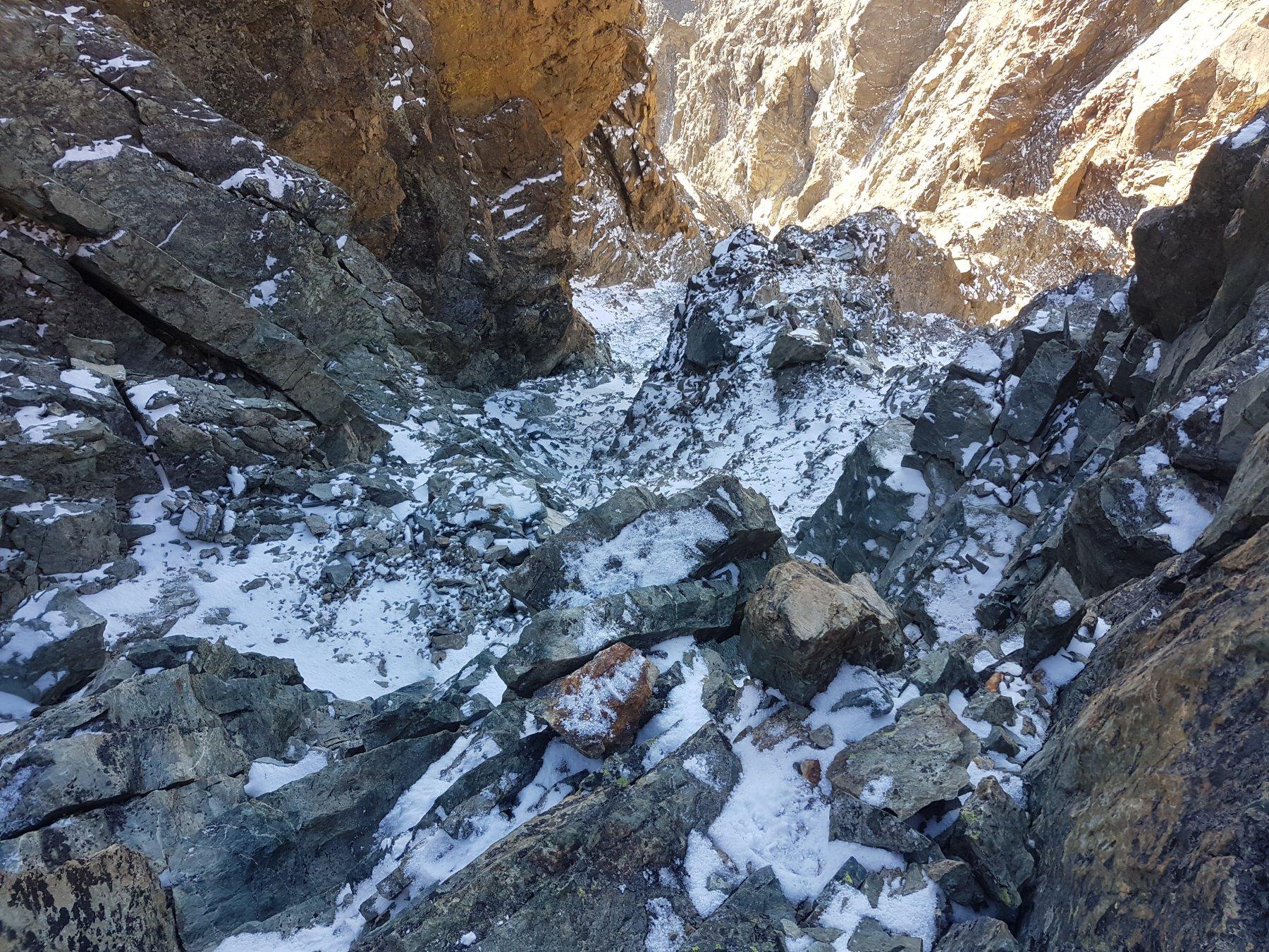 neve sull'aggiramento del Saint Robert