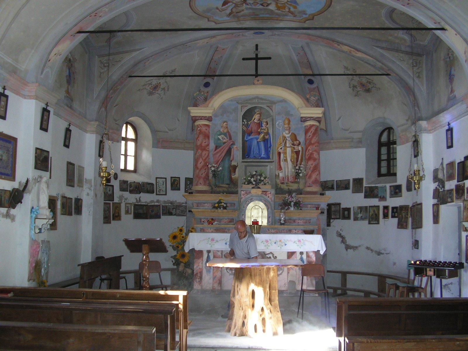 Cappella dell'Olocco - interno