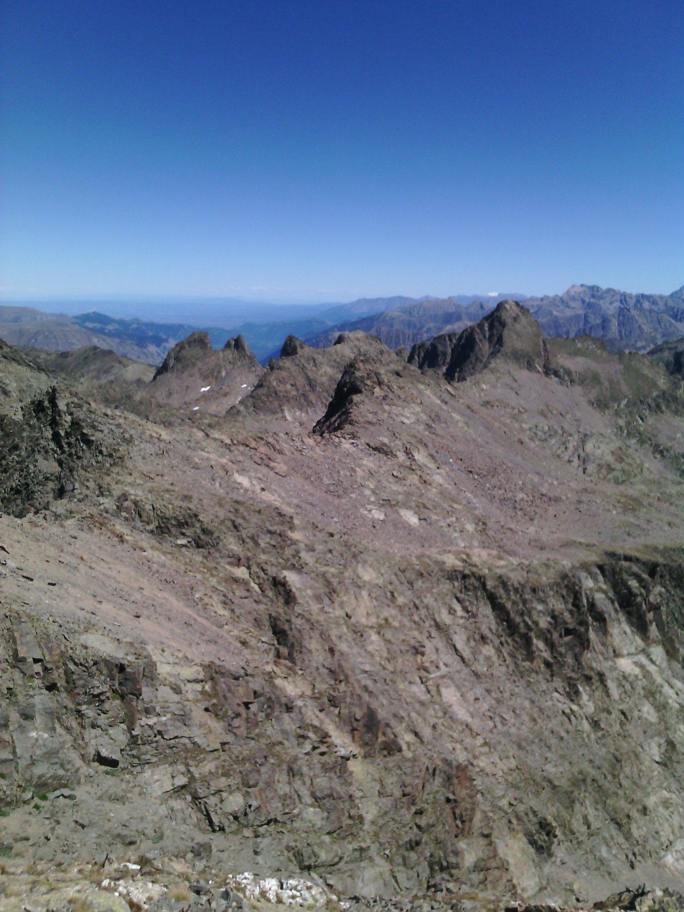 punte di Schiantala' Montagnetta e Becco alto d'Ischiator