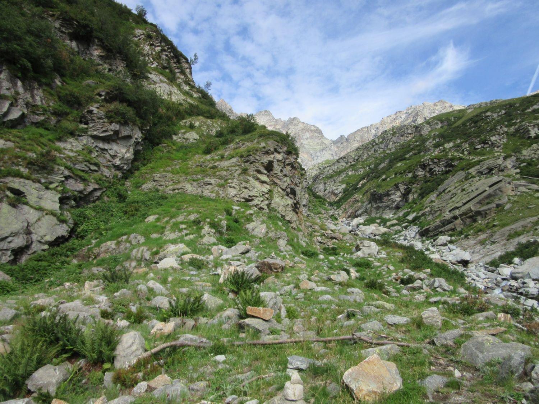 Dove parte il sentiero per il Ferreri