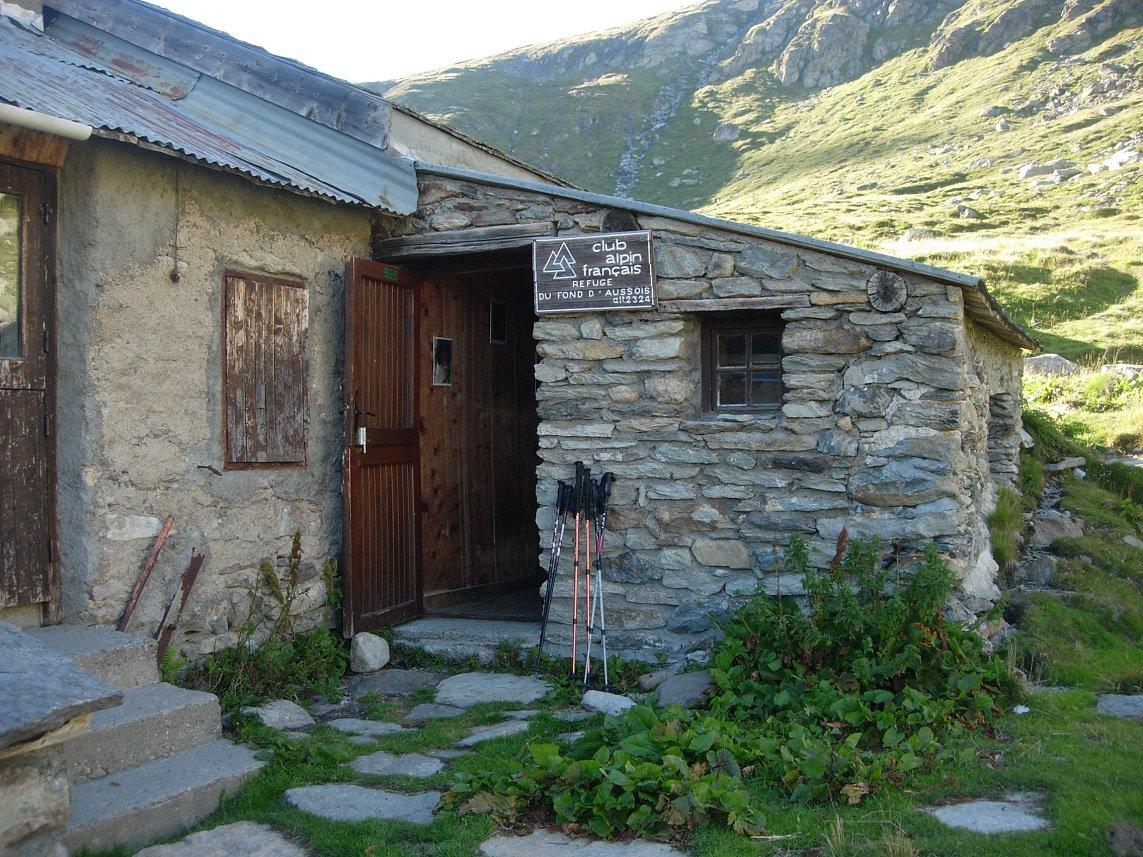 Il vecchio rifugio dove abbiamo pernottato.
