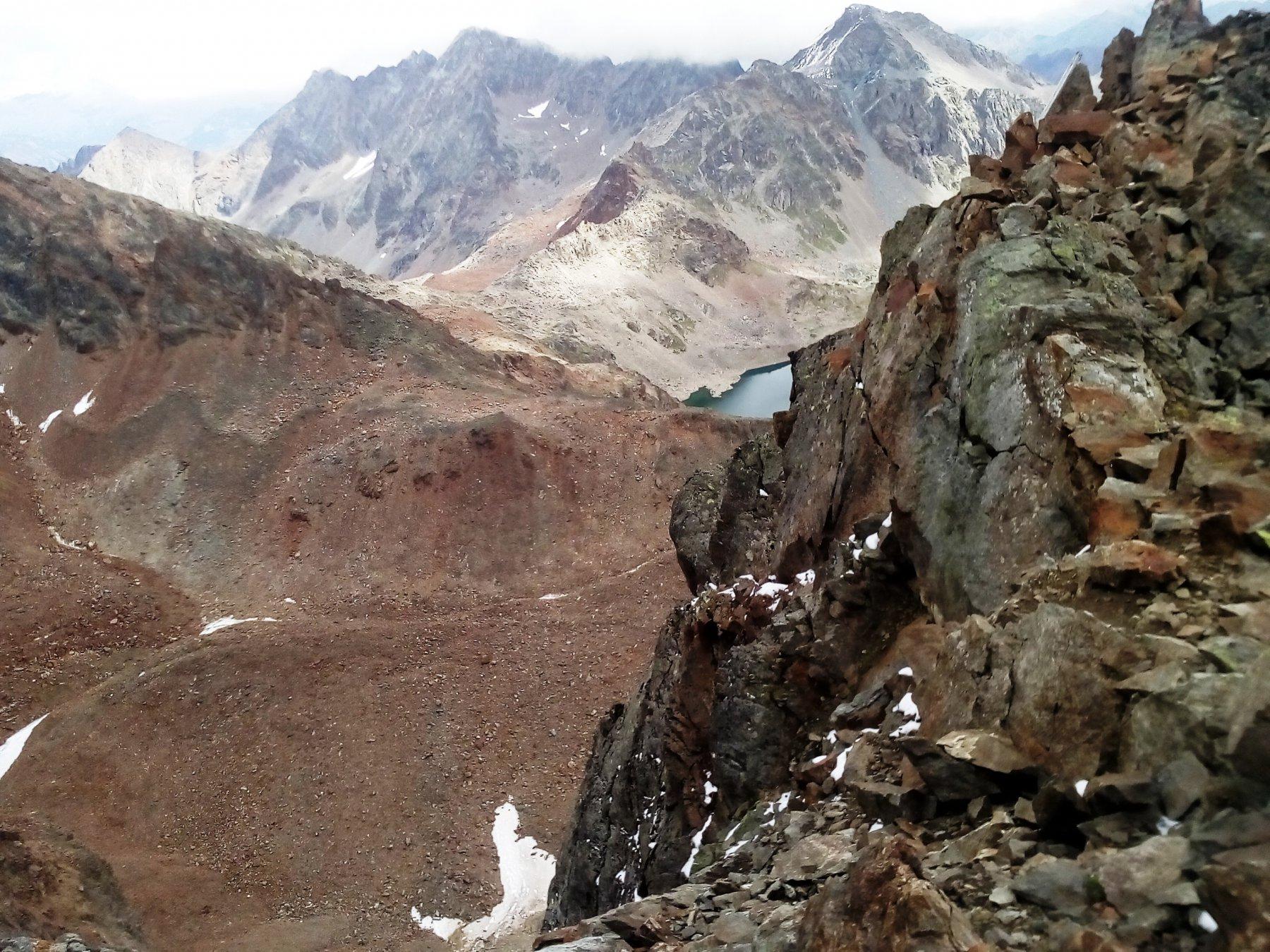 Garin (Punta) Via Normale per la Cresta SE 2017-08-13