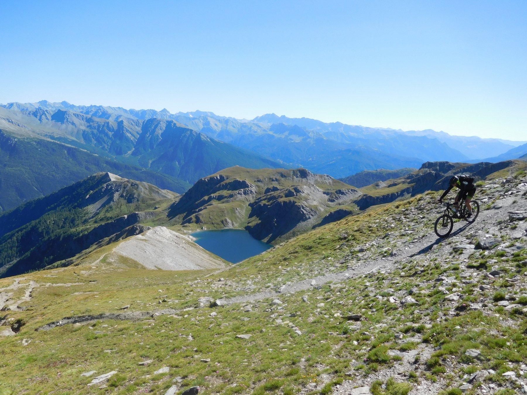 inizia la cresta sud del Pic du Malrif