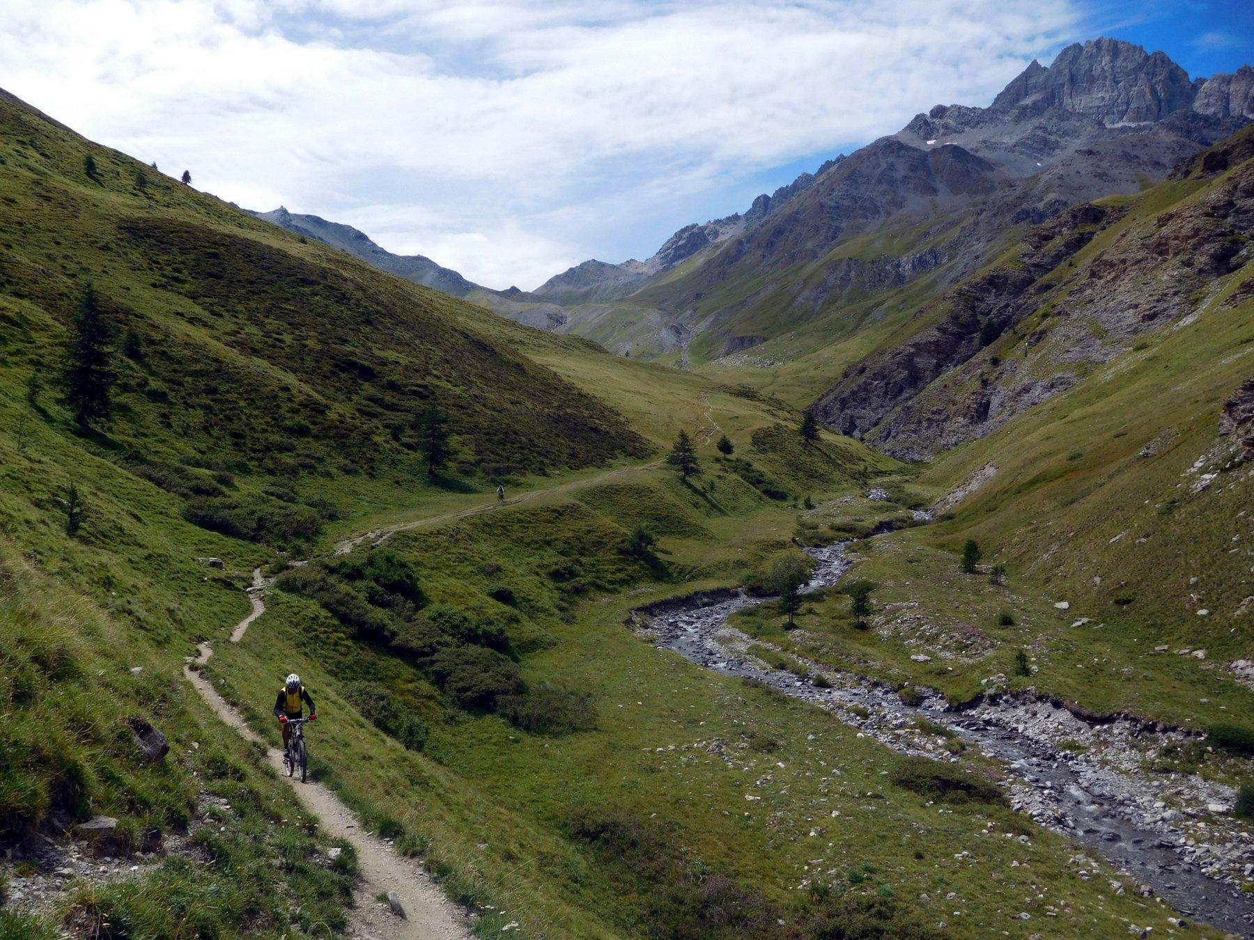 Merciantaira (Punta) o Grand Glaiza da Bousson, traversata ad Abriès per i col du Petit Malrif e de Pèas (2 gg) 2017-08-13