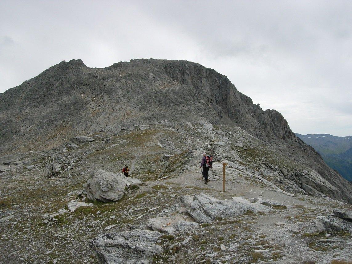 Il Rateau visto dal Col de la Masse.