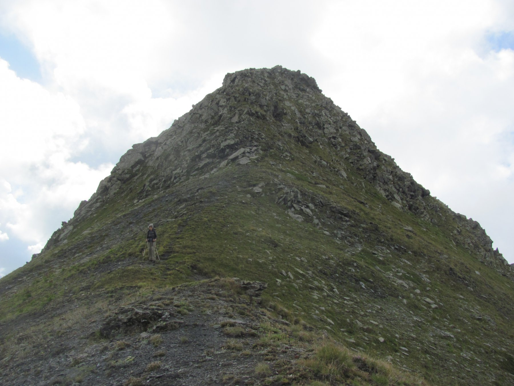 la quota 2622 vista dal Col Fetita