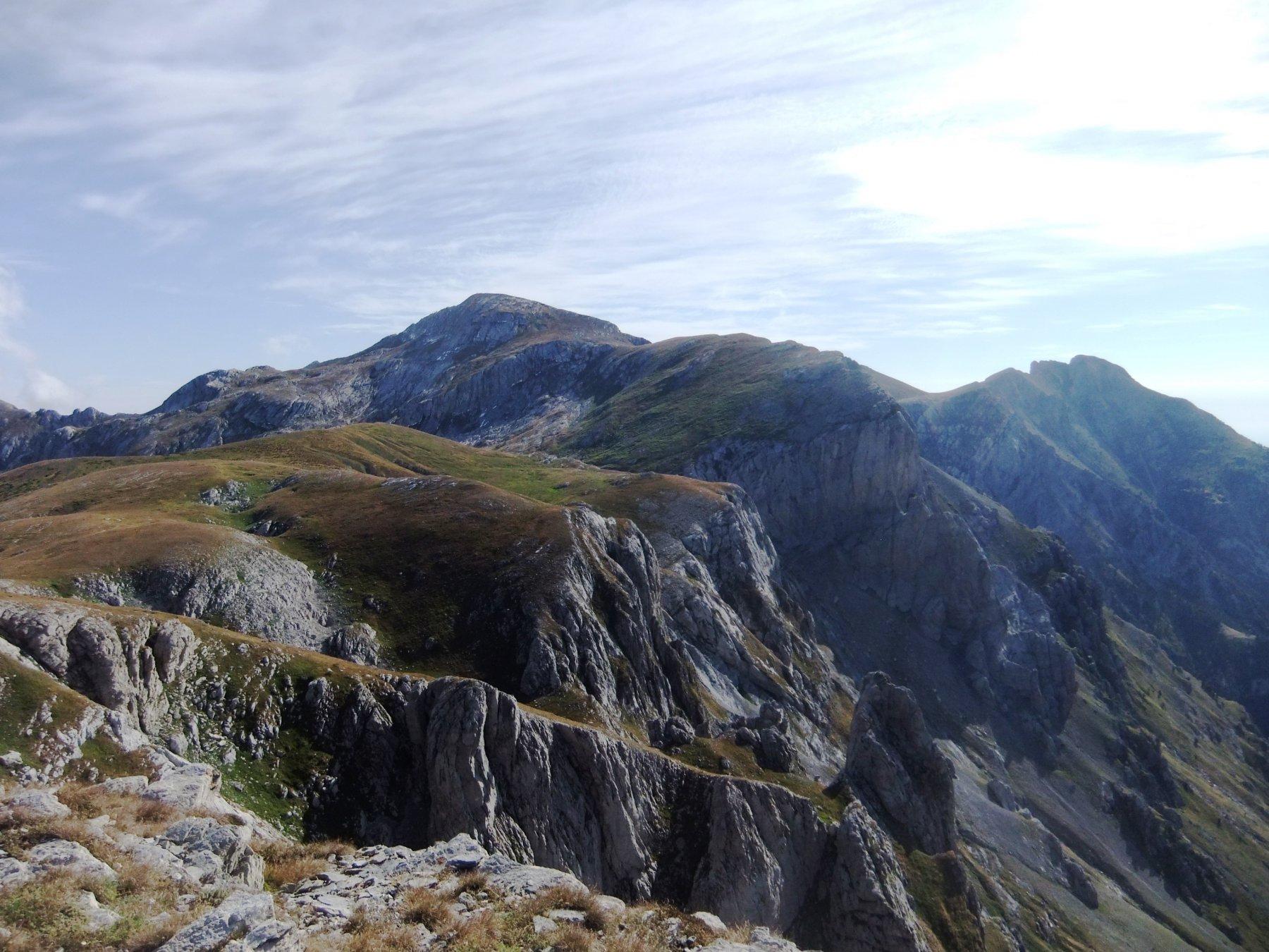 Il Mongioie dalla Rocca dei Campanili