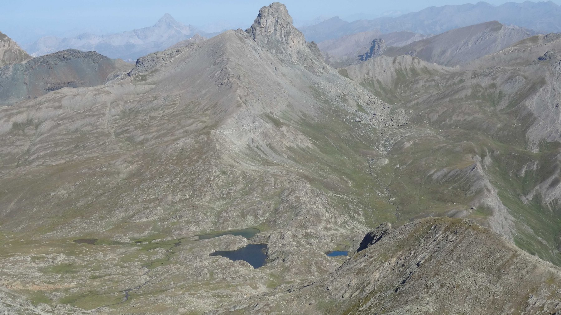 panorama verso colle Longet