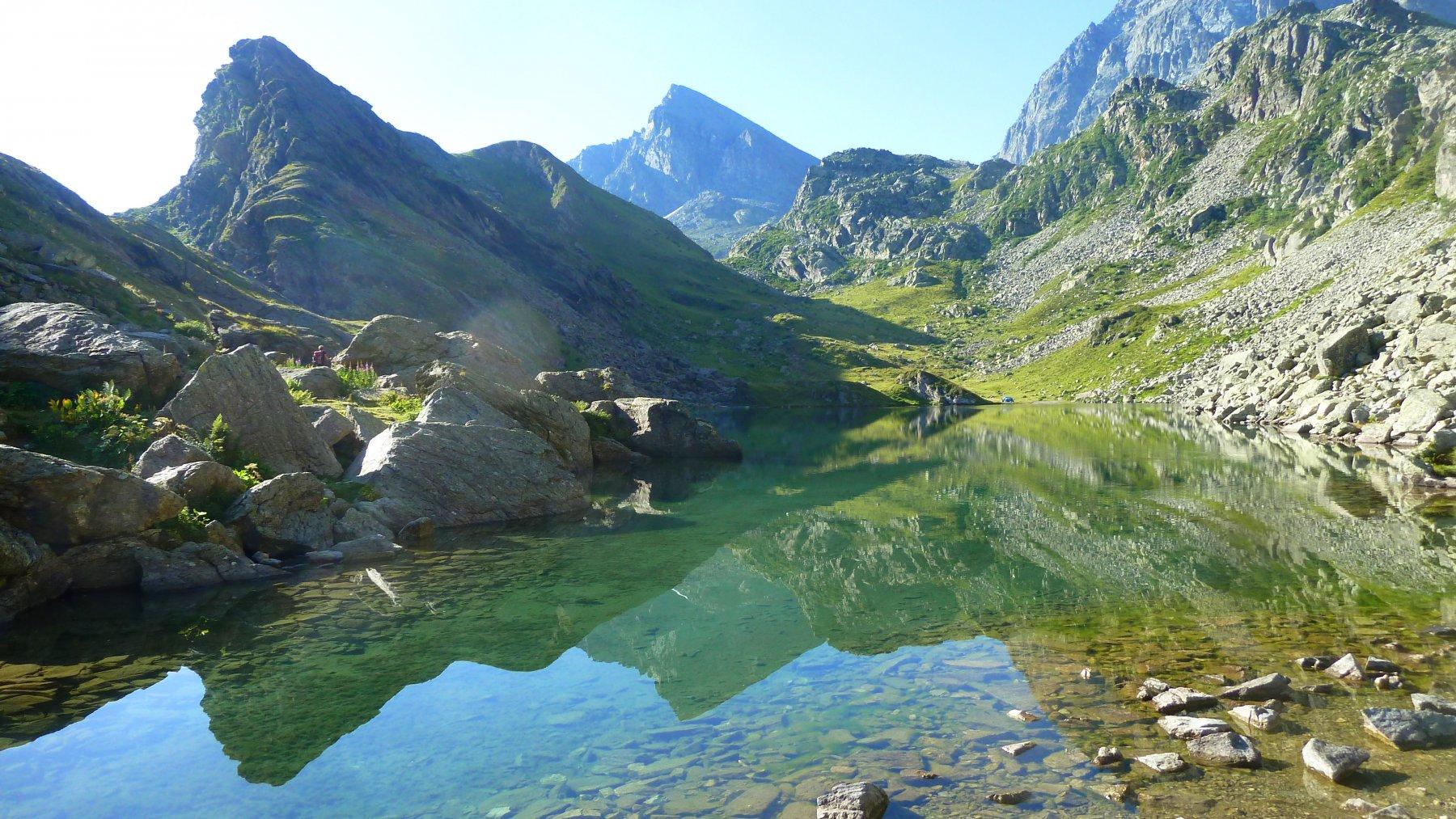 riflessi sul lago fiorenza