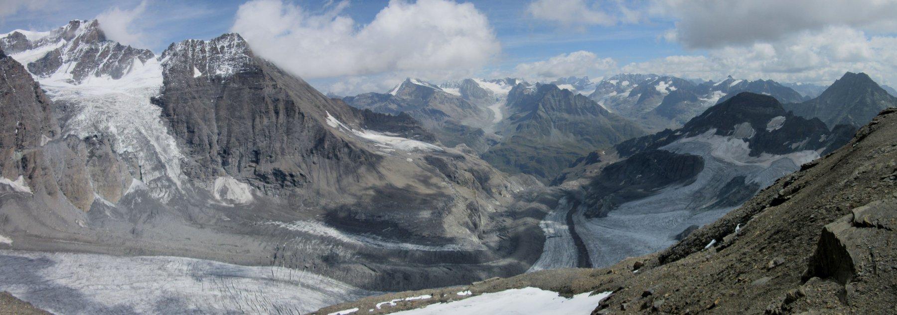 I ghiacciai stanno soffrendo ...