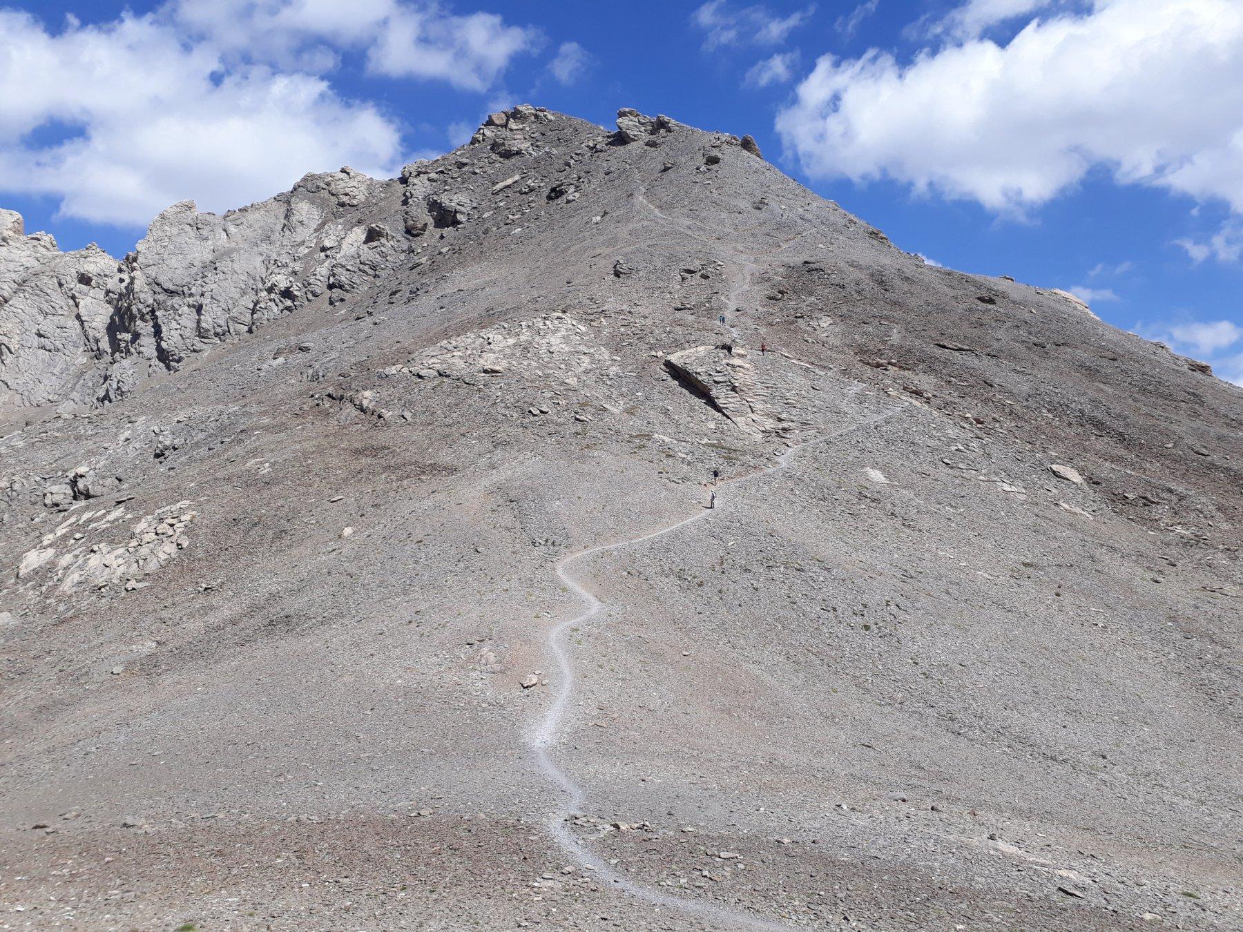 Tete de la Frema dal Col de la Gypière