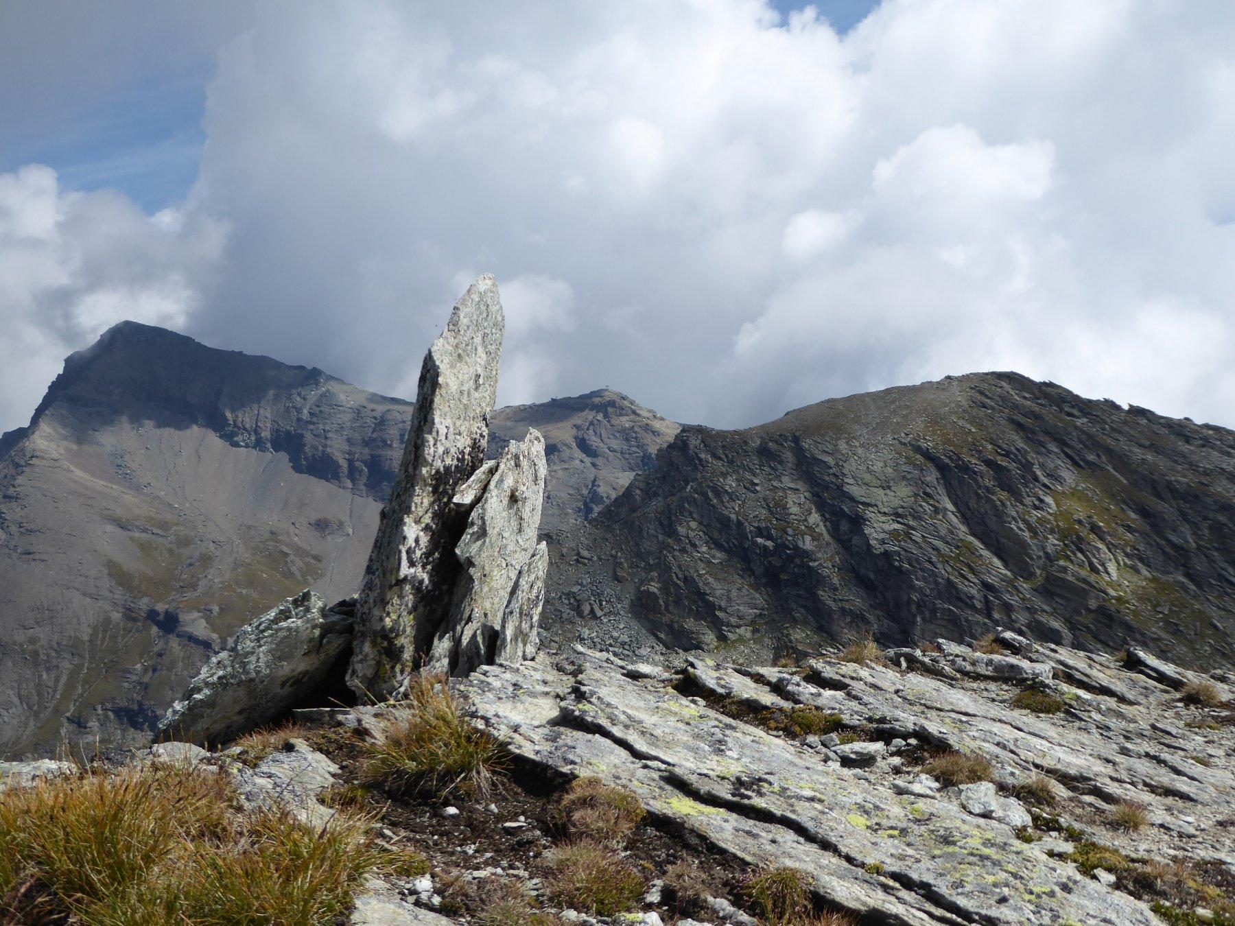 dal monte Perrin: Testa Grigia, Pinter e Gran Cima