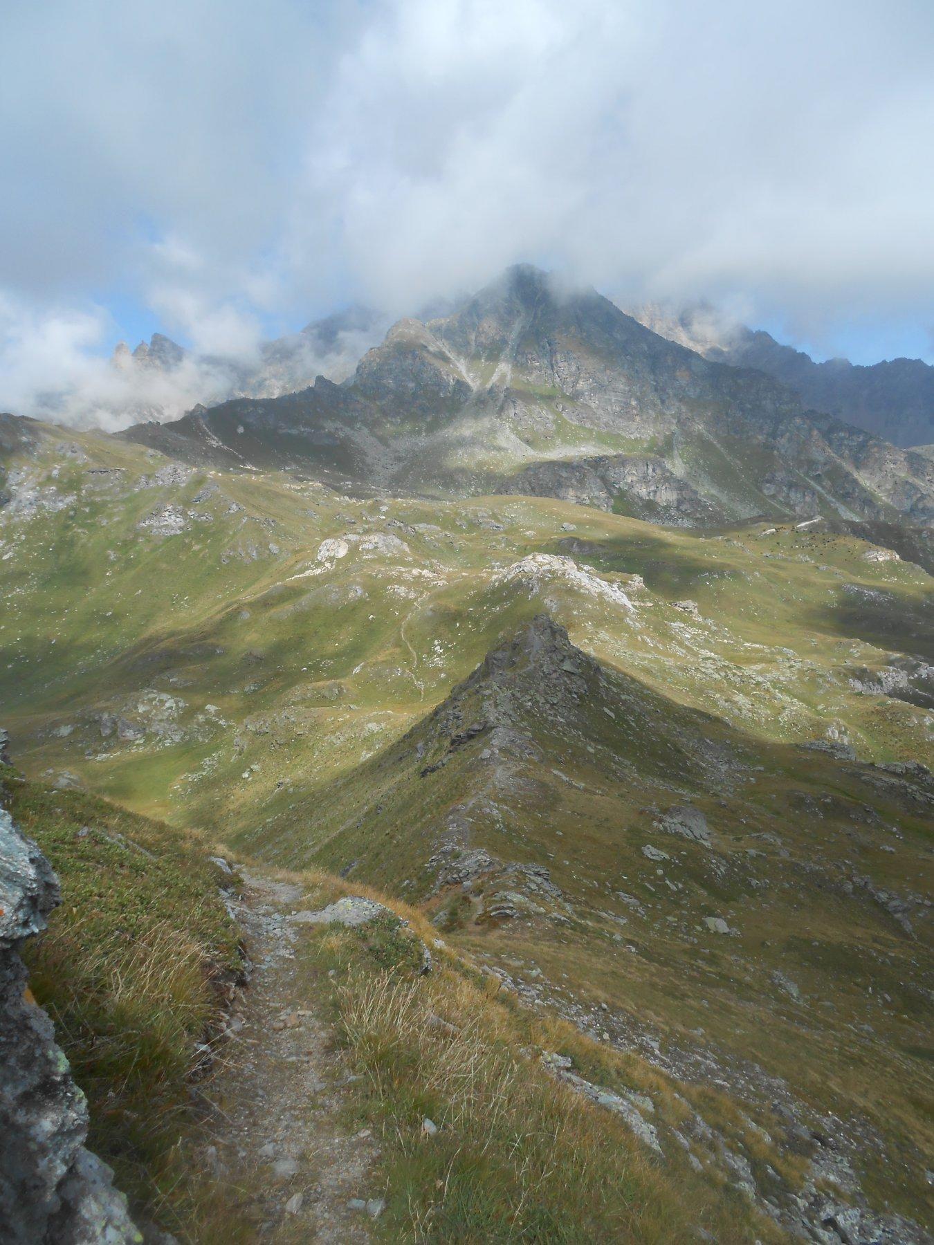 salendo al Monte Morion