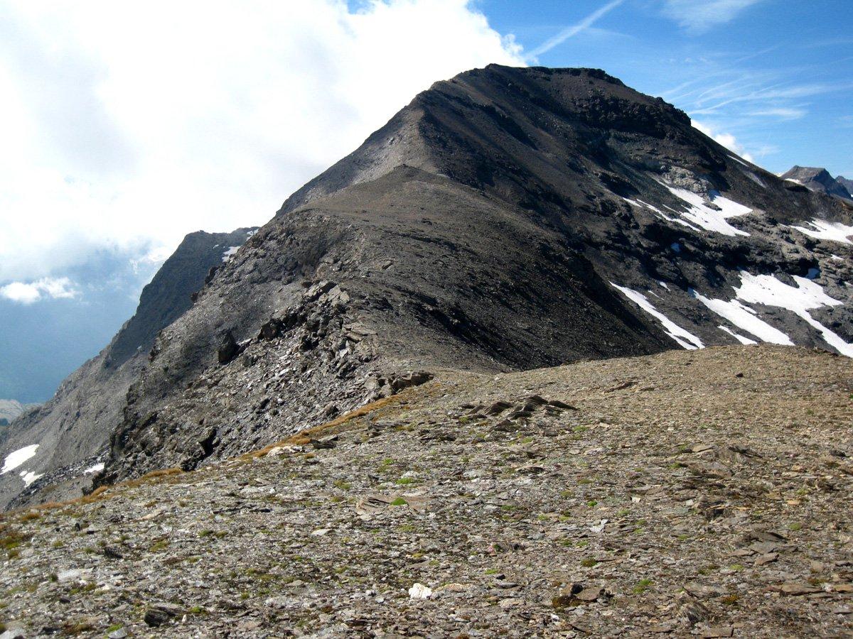 Cresta per la Gran Vaudalaz