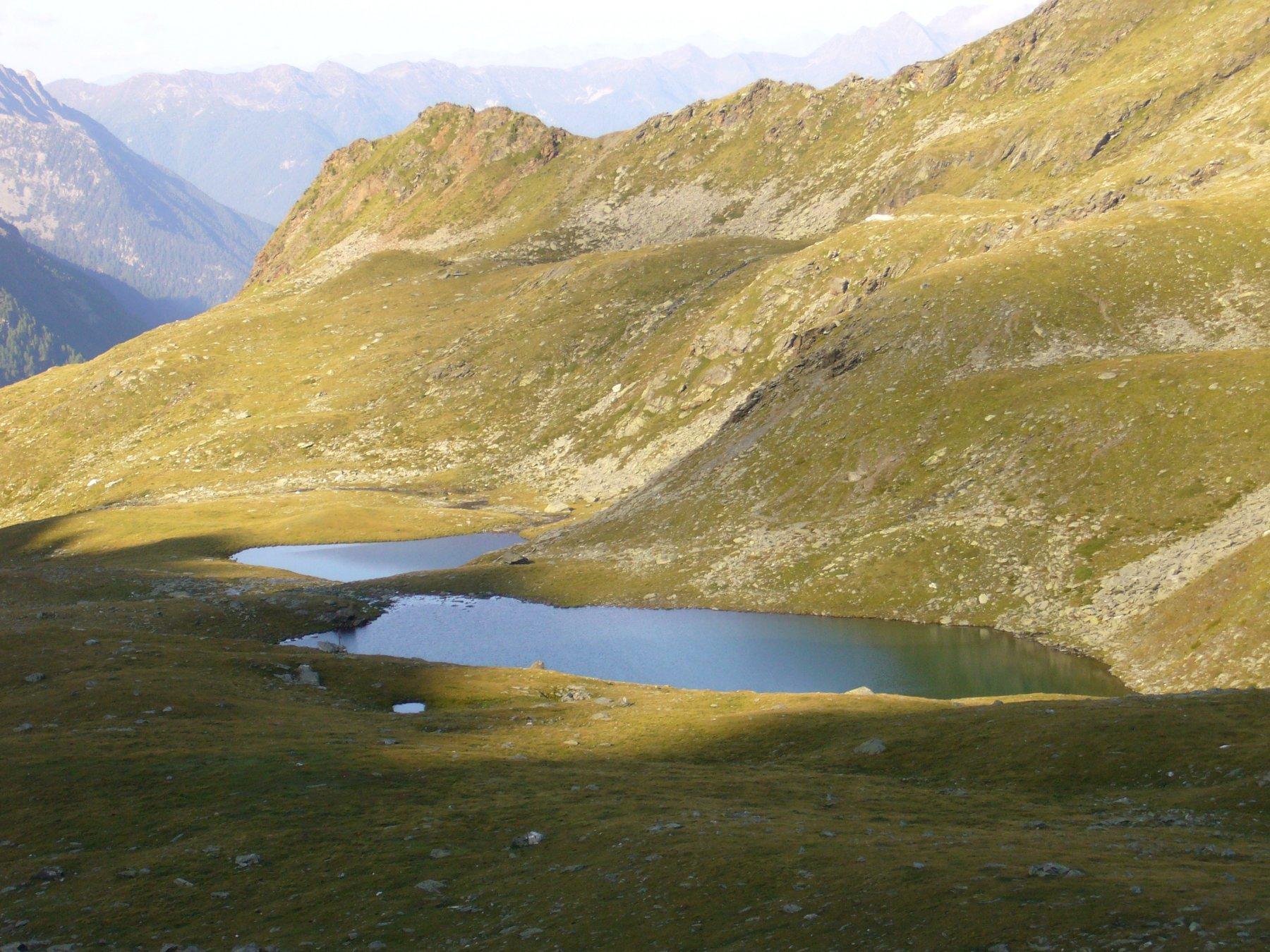 Triangolo di Riva o Dreieck Spitze da Riva di Tures, anello dei laghi Kofler e lago di Gola 2017-08-17