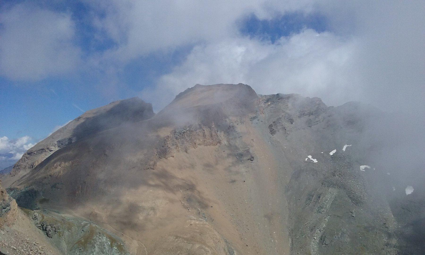 Il Taou Blanc dalla cima
