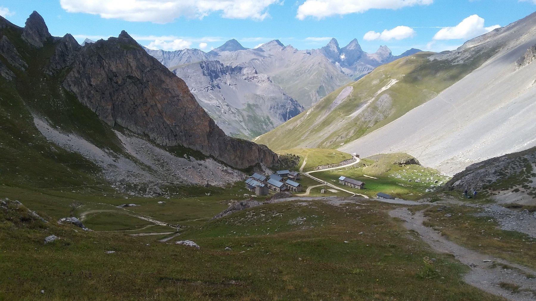 panorama dal Col des Rochilles