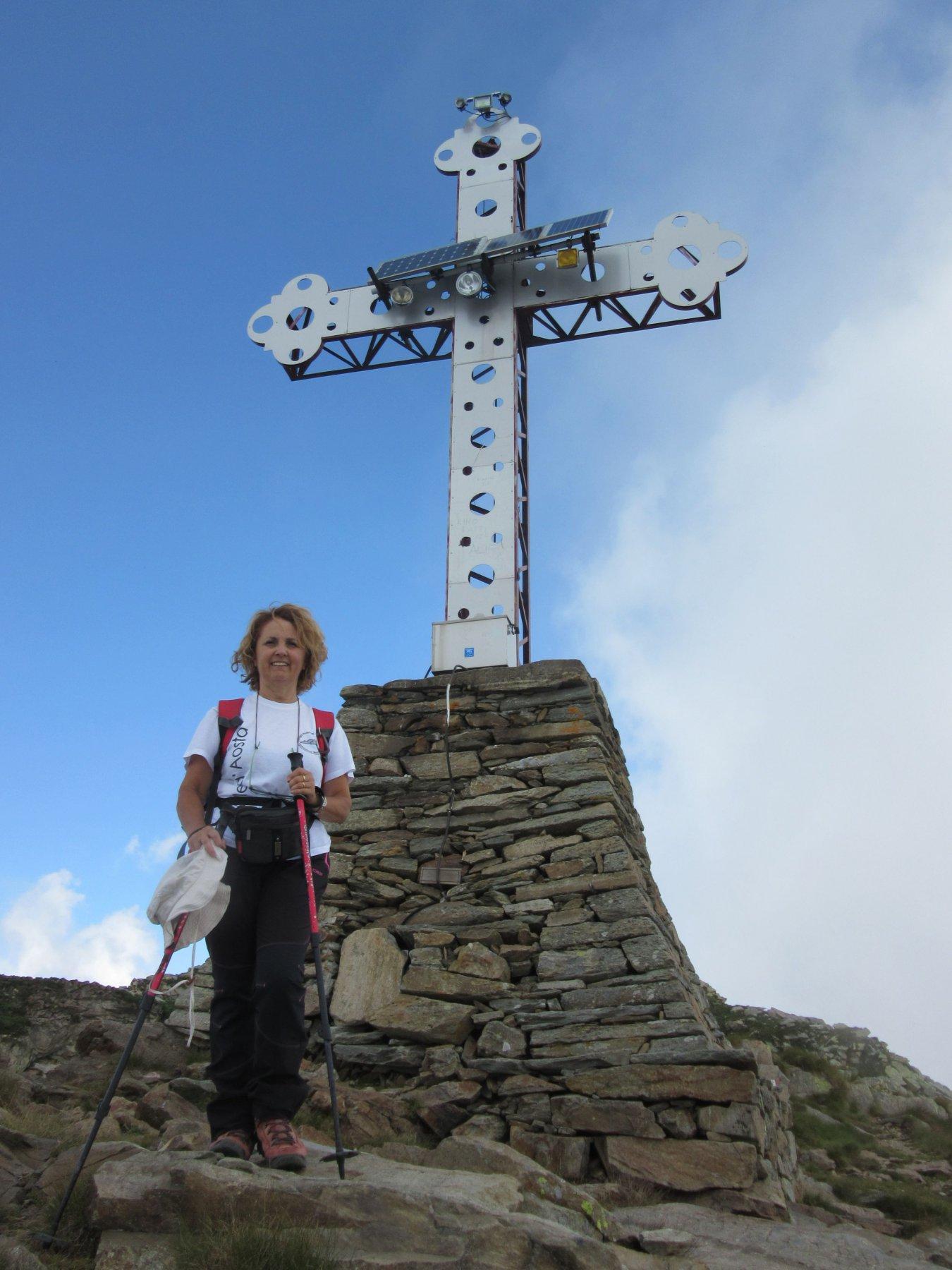 La vecchia croce del Mucrone
